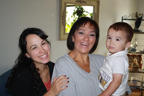 Visiting Nana- August 2012