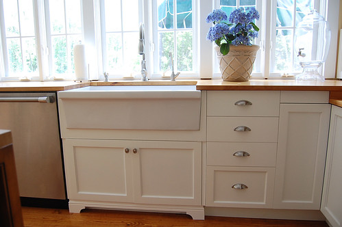"""Will a Farmhouse Sink fit in an Ikea Akrum 30"""" Sink Cabinet?"""