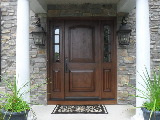 Jeld wen fiberglass door unit flickr photo sharing for Jeld wen exterior doors