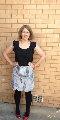 Meringue Skirt Front