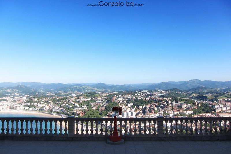 El monte Igeldo, mirador de Donostia
