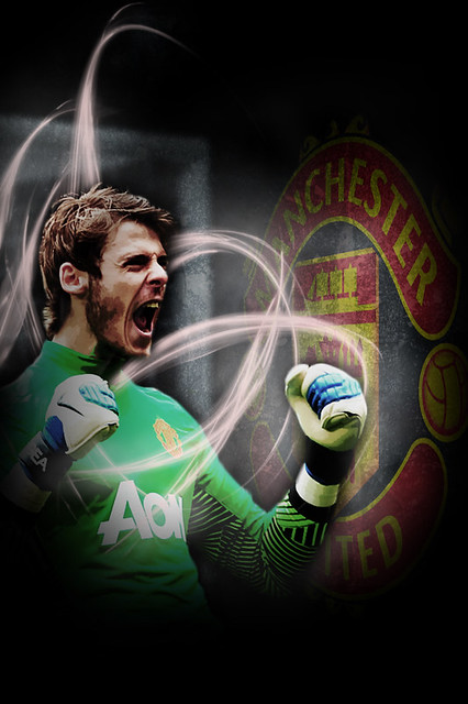 De Gea iPhone Wallpaper