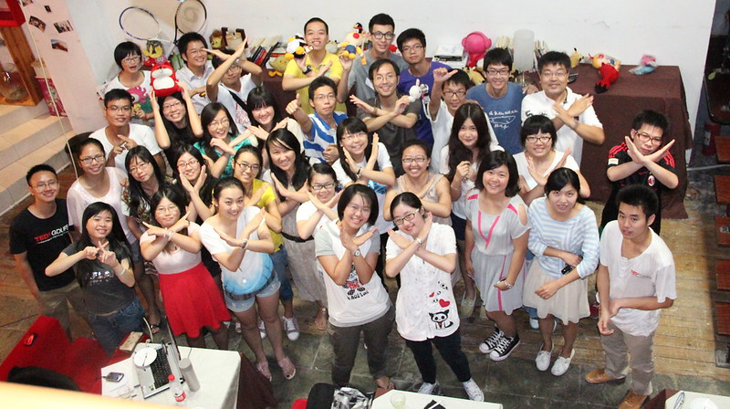 TEDx workshop for China universities @Hangzhou
