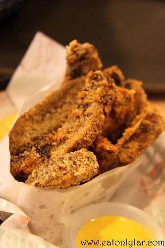 Portabella Fries, myBurgerLab
