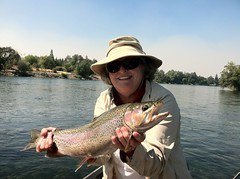 Jan, a Redding local with a Lower Sacramento River