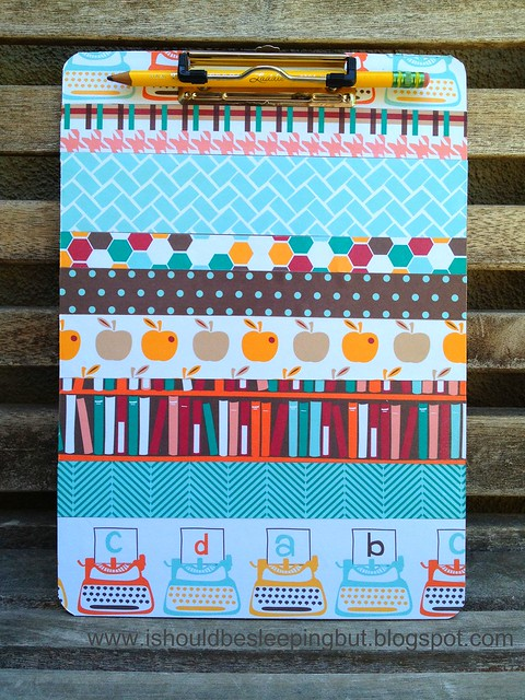 back to school clipboard (front)