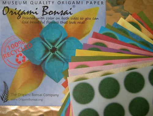 Origami Bonsai Paper