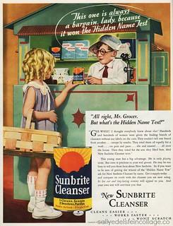 1934 New Sunbrite Cleanser