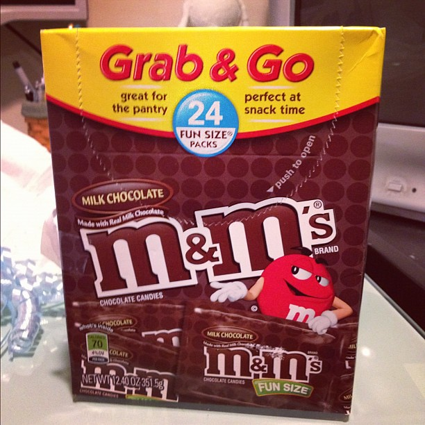 Perfect for #nyfw #m&ms