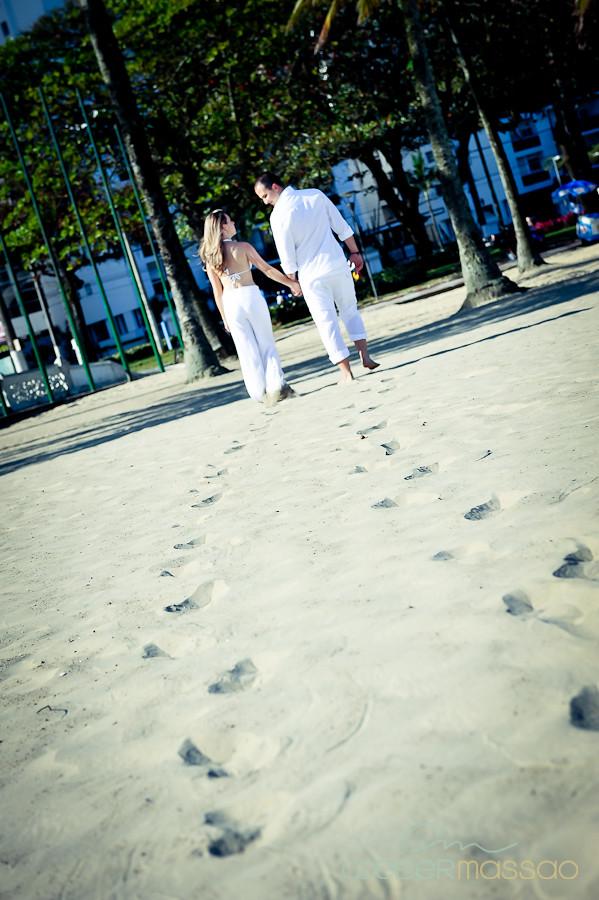 Lais e Diego E-session na praia de Santos-32