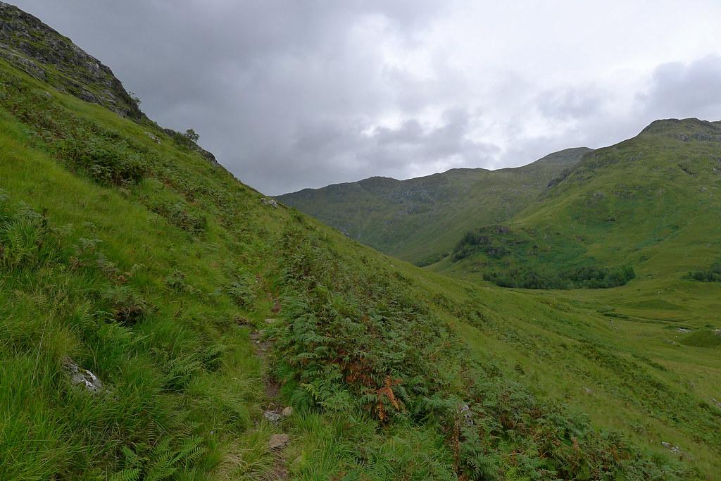The stalkers path up Sgurr nan Coireachan