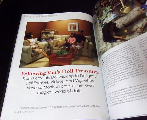FDQ Article by D. Behan Garrett on Van's Doll Treasures by Black Doll Enthusiast