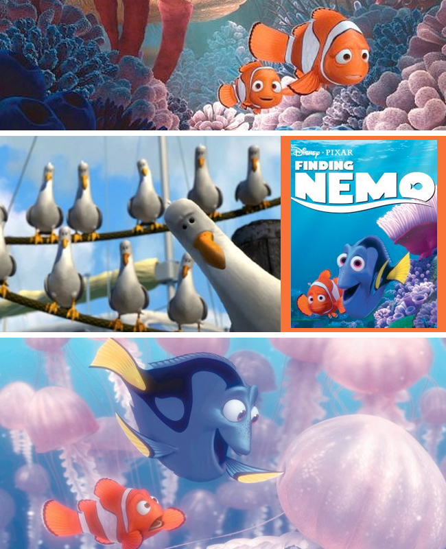 Finding Nemo Collage