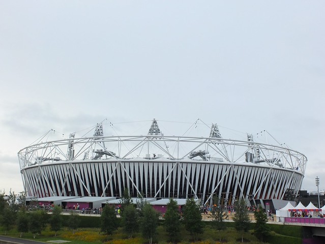 The Olympic and Paralympic stadium