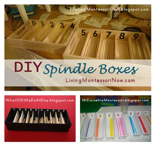 DIY Spindle Boxes