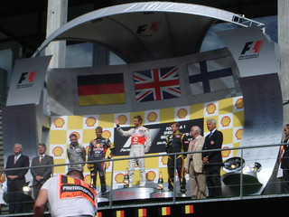 The podium 2