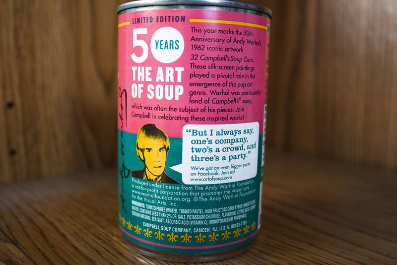 Campbells Soup - Andy Warhol - Pink & Green