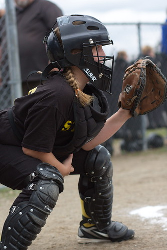 Bravest girl on the diamond by The Bacher Family