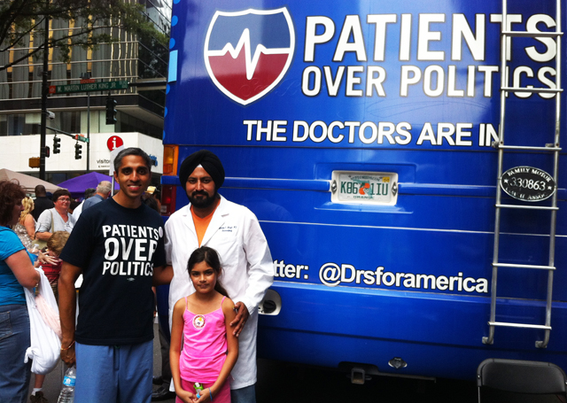 DNC Profiles: Gagandeep from St. Pete & Vivek from Boston