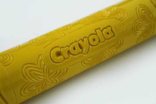 Yellow Crayon in Flower Power