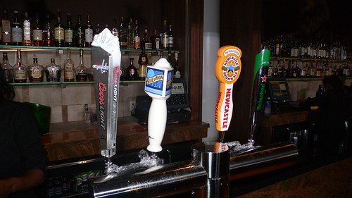 Beers on tap at the Howard Theatre