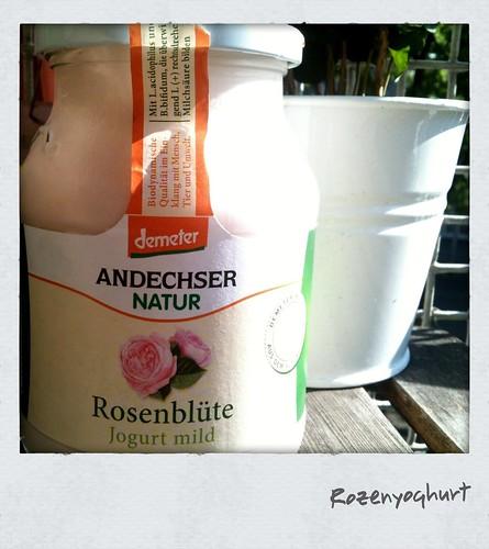 Rozenyoghurt