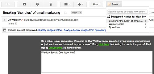 "Breaking ""the rules"" of email marketing - cspenn@gmail.com - Gmail"