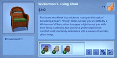 Wickerman's Living Chair