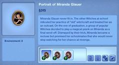 Portrait of Miranda Glauer