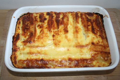 49 - Kürbis-Cannelloni / Pumpkin cannelloni - Fertig gebacken