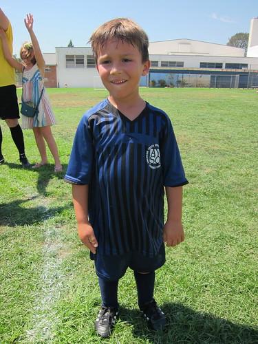 Finn in uniform