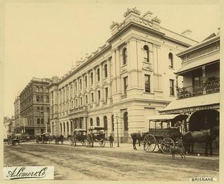 Australian Mutual Provident Society Building Brisbane 1889