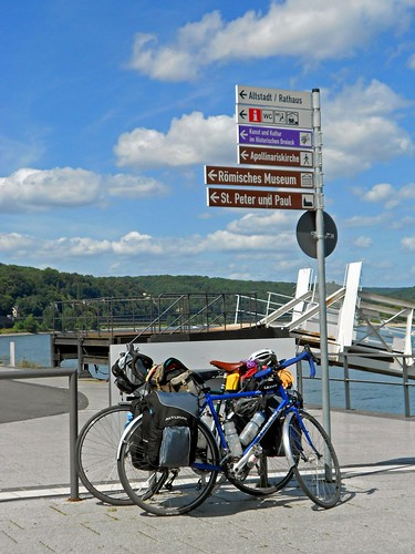 Touring Bicycles in Remagen