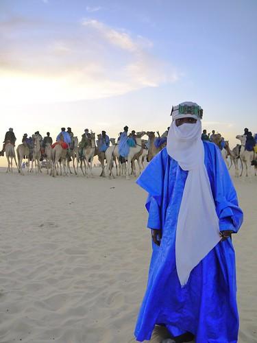 Tuaregs at Desert festival, Timbuktu, Mali