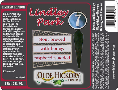 Lindley Park label