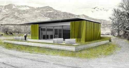 Дом на солнечных батареях Ekihouse - претендент на победу в Solar Decathlon Europe