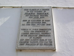 Photo of White plaque number 11500
