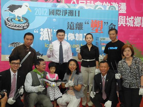 2012年國際淨灘日即將啟動,民間呼籲源頭減少使用塑膠製品。