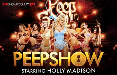 holly madison vegas peep show