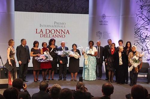 Premio Donna dell'Anno, in una delle scorse edizioni
