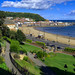 Scarborough, North Yorkshire. Panorama (2 of 2). By Thomas Tolkien