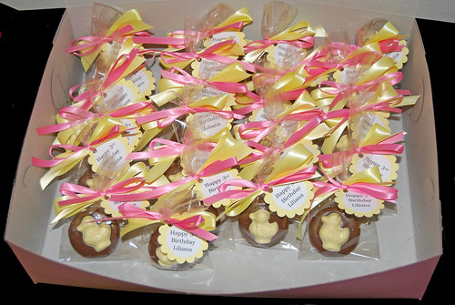 rubber duck chocolate dipped oreos for school birthday celebration