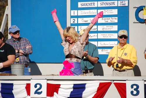 St. Mary's County Oyster Festival, shucking contest (Joe Dunn)