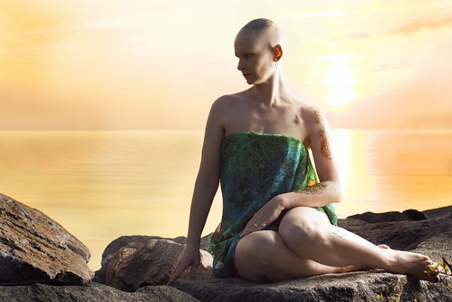 life portrait people woman art beautiful lady sunrise pose outdoors rocks breast cancer shore portraiture yorktown mermaid henna 50d