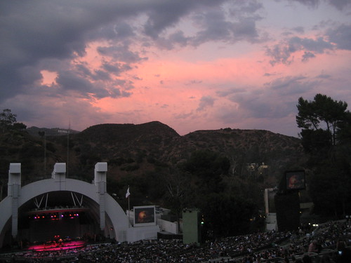 Sunset at the Hollywood Bowl