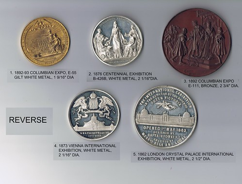 5 MEDALS REVERSE
