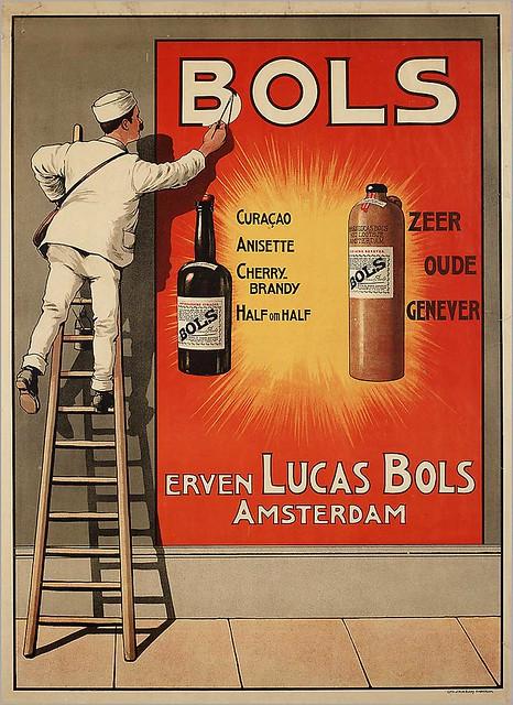 J.H. de Bussy. Bols ad. 1920s