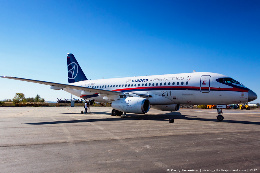 Sukhoi SuperJet 100 97005