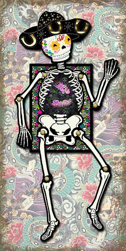 Dia de Los Muertos (Day of the Dead) by flowerlily1