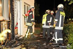 Fassadenbrand IKEA Musterhaus 16.09.12
